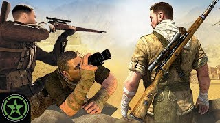 Spying on Our Neighbors - RouLetsPlay - Sniper Elite 3 with Fiona Nova