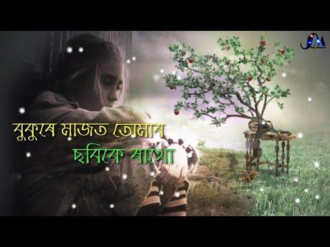 Bukure Majot Tumar   Assamese Sad Status Video   Sad Status   Ships Moment 2019