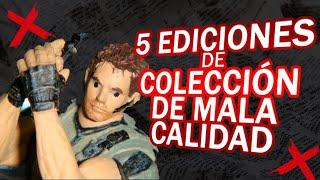 Las Peores Ediciones de Coleccion en Videojuegos I Fedelobo