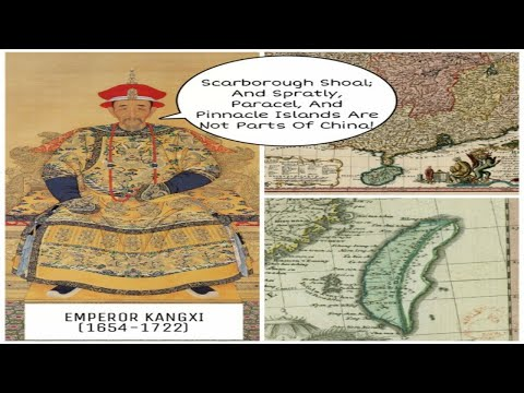 Paracel, Senkaku, Spratly, & Scarboro Are Not Part Of China By Emperor Kangxi, Jesuits, D'Anville...