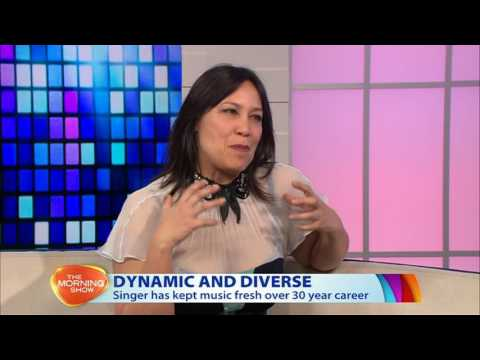 Kate Ceberano  Morning Show interview August 2016
