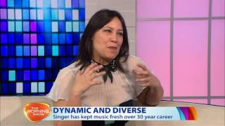 Kate Ceberano - Morning Show interview August 2016