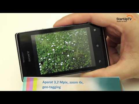 Sony Xperia E dual - test wideorecenzja smartfona z Dual SIM