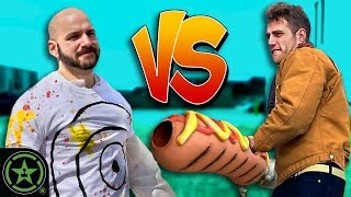 Hot Dog Cannon Challenge - VS