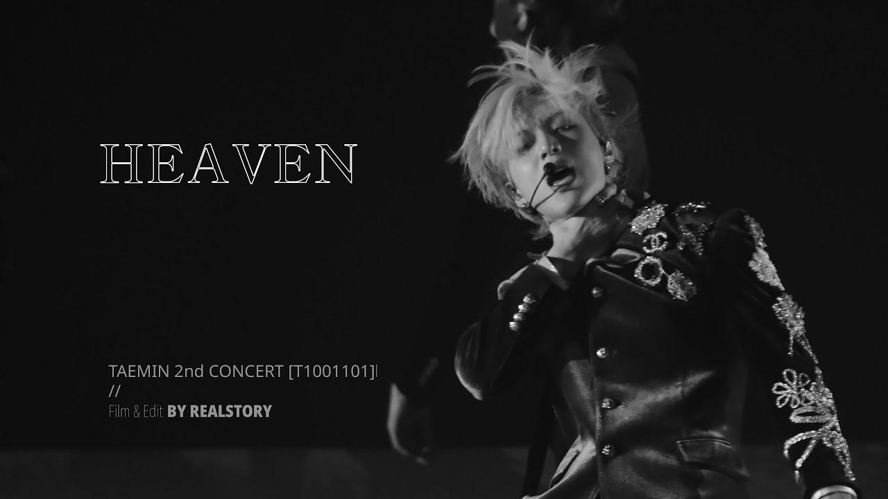 TAEMIN 2nd CONCERT [T1001101] - Heaven (태민)