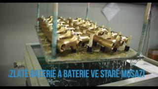 RAVSLEZÁK - české vodovodní baterie