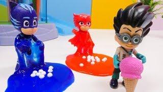 Spielspaß mit den Pyjamahelden - 4 Folgen am Stück - PJ Masks Toys