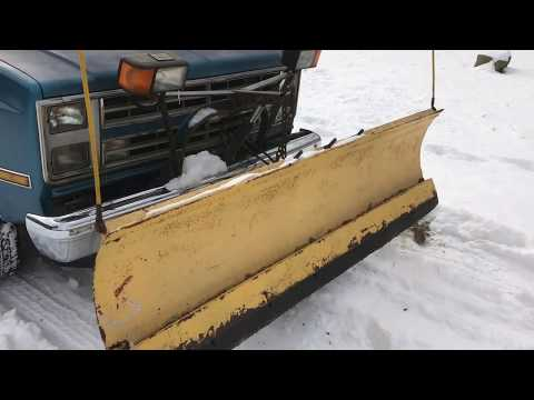 How To Plow Snow Using A Fisher Hydraulic Plow