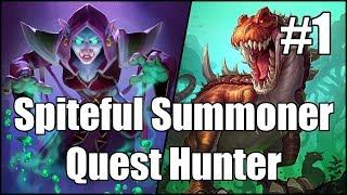 [Hearthstone] Spiteful Summoner Quest Hunter (Part 1)