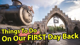 Islands of Adventure: Six Things We're Doing Our First Day Back | Rix Top Six