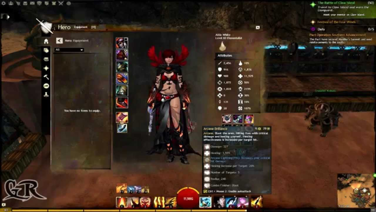 Guild Wars 2 Elementalist Berserker Build