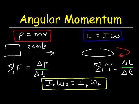 Angular Momentum - Basic Introduction, Torque, Inertia, Conservation of Angular Momentum