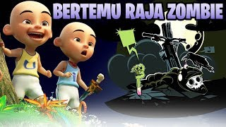 ADVENTURE of UPIN IPIN FIND ZOMBIE KING-Cute Roblox Indonesia