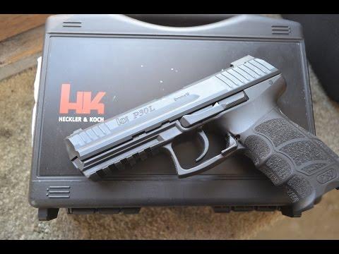 H&K P30L 9mm ---- With The LEM Trigger