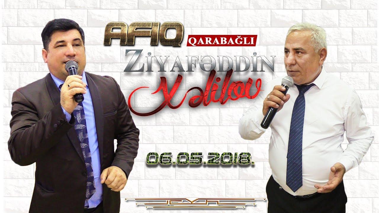 Afiq Qarabagli - Ziyafeddin Xelilov - Saratovda Agcabedi toyu - 06.05.2018