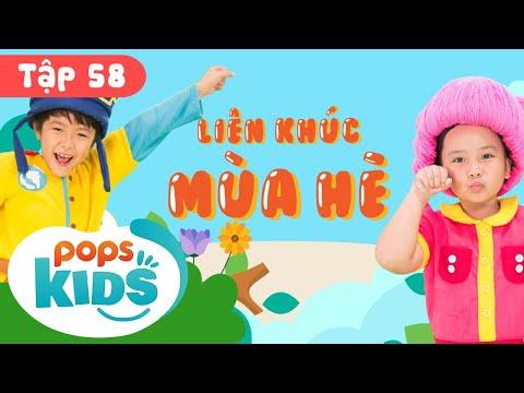 Mầm Chồi Lá Tập 58 - Liên Khúc Mùa Hè | Nhạc Thiếu Nhi Cho Bé | Vietnamese Songs For Kids