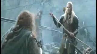 Repeat youtube video Legolas kills Gimli