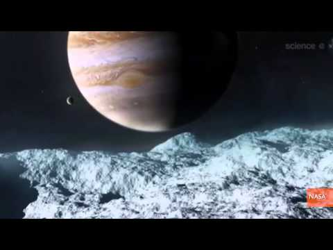 NASA's Search for Life Heading to Jupiter's Moon Europa