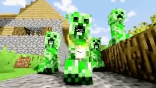 Майнкрафт 'Рэп Крипера' Minecraft Пародия
