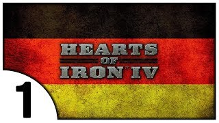 ГЕРМАНИЯ - НАЧАЛО 1 Hearts of Iron IV Millennium Dawn