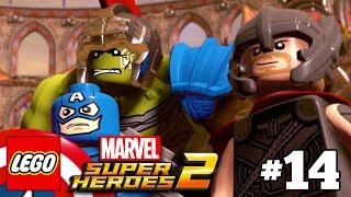 LEGO Marvel Super Heroes 2 Walkthrough Part 14 - Red King Revelation with Thor and Gladiator Hulk
