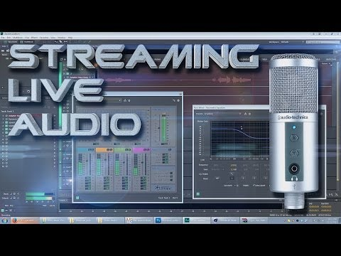 Live Stream Voice Tutorial for Twitch w/ Adobe Audition CC + OBS (Free Download - God Voice)