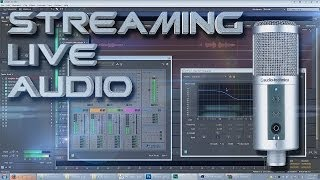 Live Stream Voice Tutorial for Twitch w/ Adobe Audition CC + OBS (Free