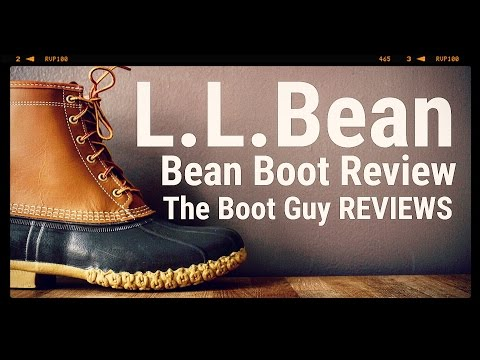 """L.L.Bean Boots, 8"""" Gore-Tex/Thinsulate Item #: TA212080 [ The Boot Guy Reviews ]"""