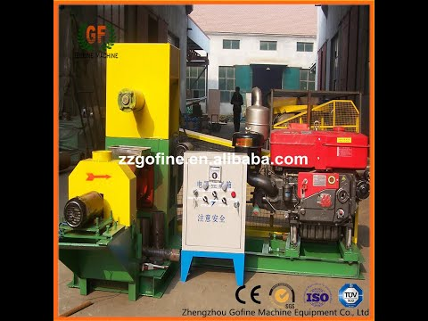 floating fish feed pellet machine, fish feed extruder, puffed feed pellet machine