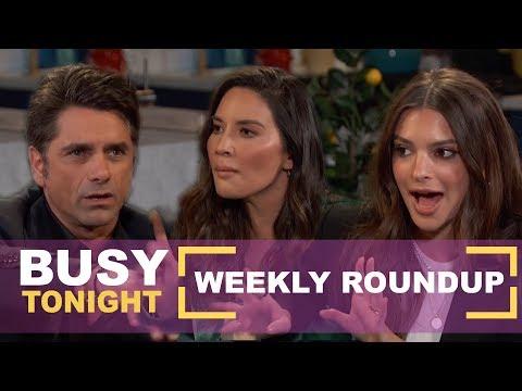 Emily Ratajkowski Gets Arrested, John Stamos' Weird Masturbation Story | Busy Tonight Weekly Roundup thumbnail