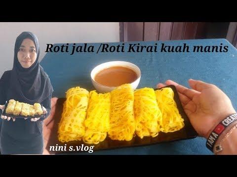 Roti Jala #roti Kirai Kuah Manis Simple Resep
