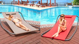 Rocking Hammock Pool Lounger