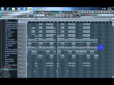 YG-Left Right (instrumental) Remake