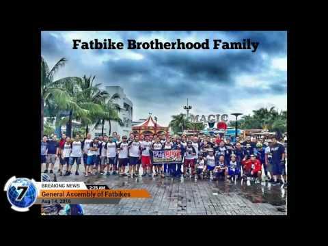 Fatbike Brotherhood General Assembly @Biker's Cafe SM Mall of Asia.  8-14-2016  -slideshow-