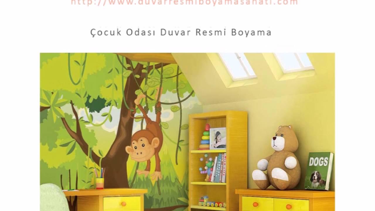 çocuk Odası Duvar Resmi Boyama örnekleri Youtube