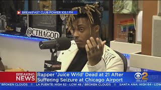 Download TMZ: Rapper 'Juice Wrld' Dead At 21 After Suffering Seizure At Chicago Airport Mp3 and Videos