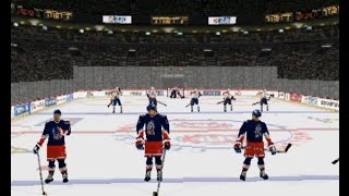 NHL 98 (PLAYSTATION) New York R vs Montreal