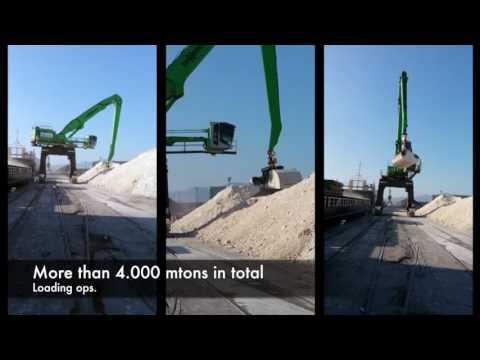 22 VN Navegación -Bilbao-   Loading Superphosphate bulk 4000 mton