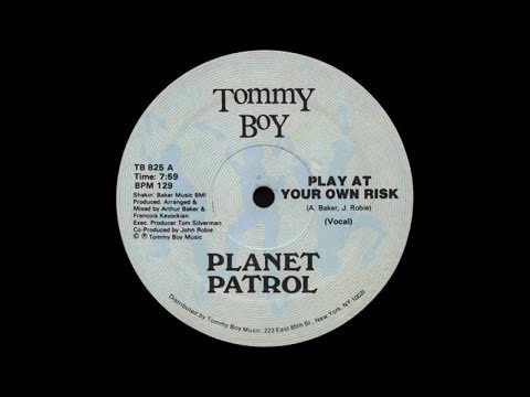 Planet Patrol   Play at your own Risk Vocal ‎12 Single 1982