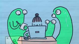 GROEP 3/4 | Start 2 | Animatie 'de Gluurbeestjes'
