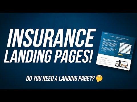 Insurance Landing Page Basics