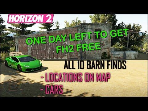 Forza Horizon 2 Barn Find