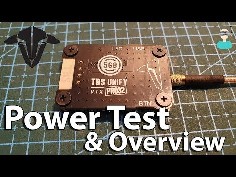 TBS Most Powerful VTX! UNIFY PRO32 HV - Power Test & Overview