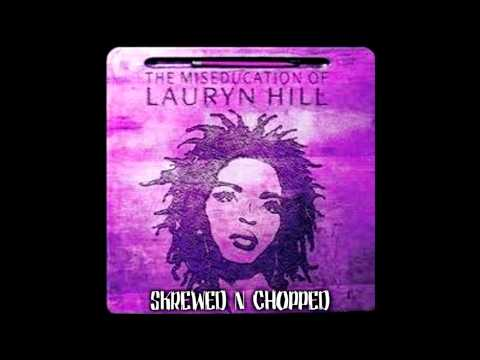 LAURYN HILL-CANT TAKE MY EYES OFF YOU(SCREWED N CHOPPED)