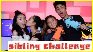How well do you know each other? | SIBLING CHALLENGE