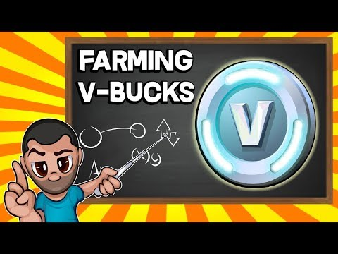 Get Fortnite VBucks by just playing the game - PVE VBucks Farming Guide