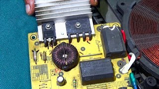 How To Repair Power Problem Of Bajaj Induction Cooker (Step By Step) - English Tutorial