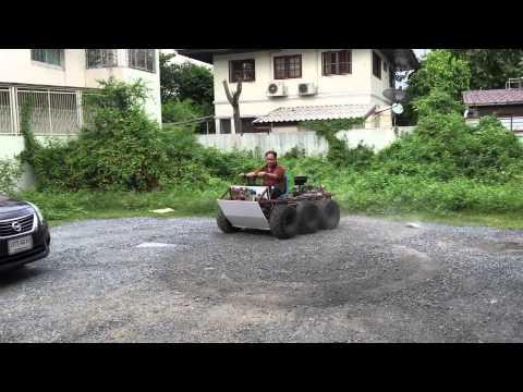 ทดสอบ 6x6 ATV สร้างเอง