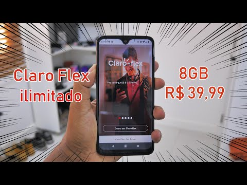 TÁ MELHOR QUE O TIM BETA  CLARO FLEX 8GB POR 3999 ILIMITADO