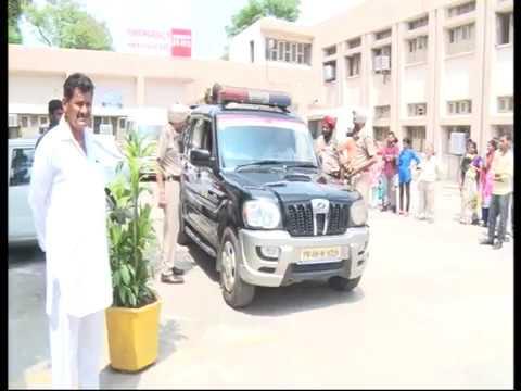 watch live cctv fight in phagwara hospital,